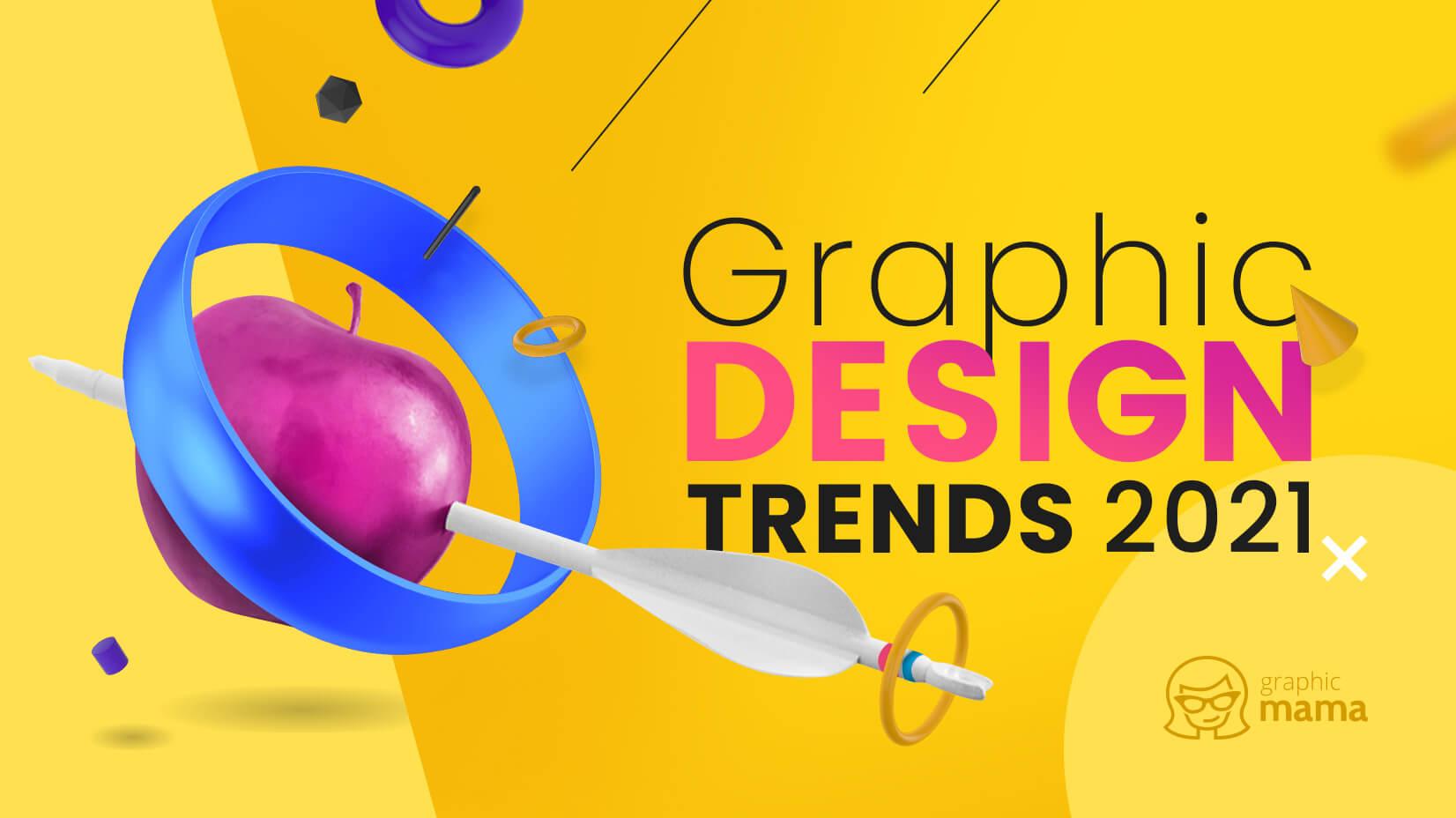 看过来!2021年平面和视觉流行设计趋势