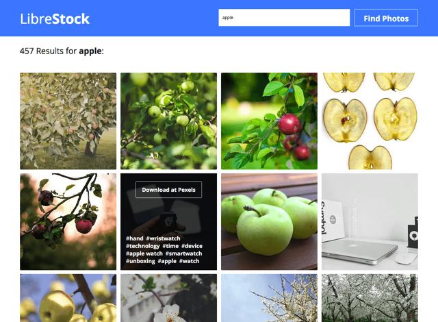 分享免费图片的神器LibreStock
